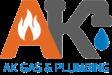 AK Gas & Plumbing logo